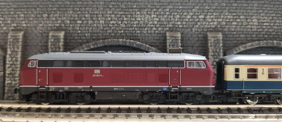 BR210 vor dem E1301